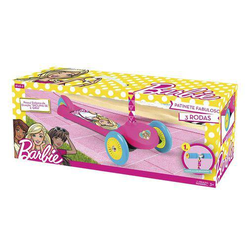 Patinete Fabuloso Barbie Tri Wheels - Fun 81455