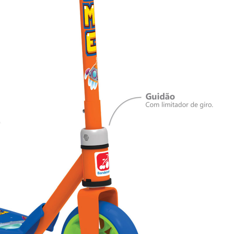 Patinete Infantil Power Game - Bandeirante 1560
