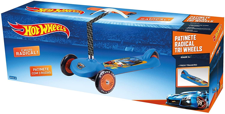 Patinete Radical 3 Rodas Hot Wheels - Fun 81448