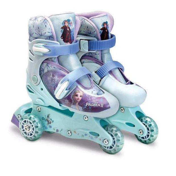 Patins Frozen Com Acessórios de Proteção 29/32 - Fun  00170