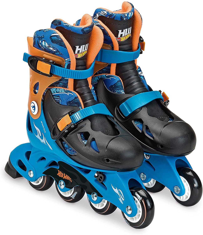 Patins Hot Wheels Ajustável c/ Segurança M2 33/36 Fun F00109
