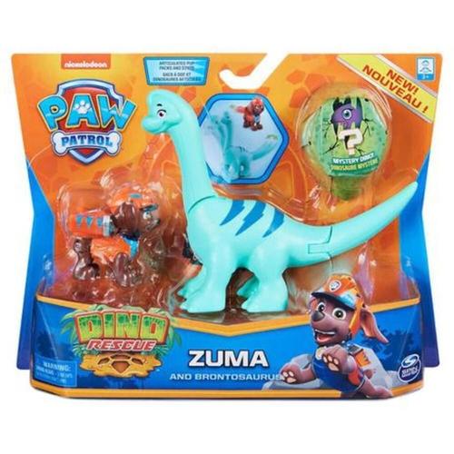 Patrulha Canina Dino Rescue Zuma e Brontossauro - Sunny 2270