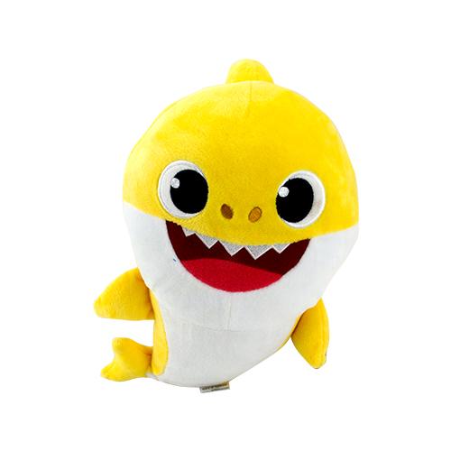 Pelúcia Baby Shark com Música de 12? Amarelo - Sunny 2352