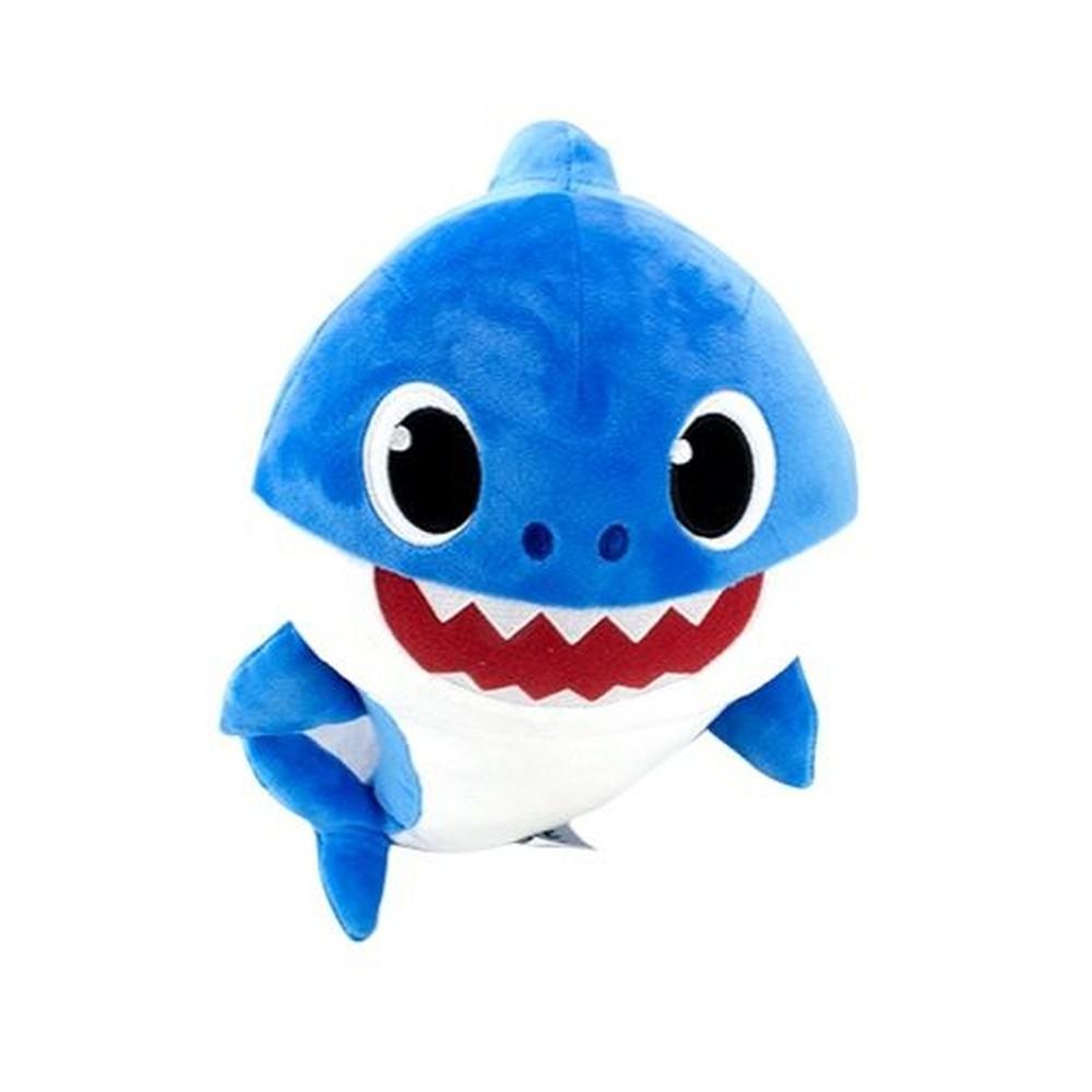 Pelúcia Baby Shark com Música de 12? Azul - Sunny 2352