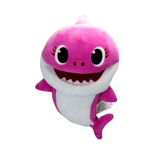 Pelúcia Fantoche Baby Shark Rosa - Sunny 2354