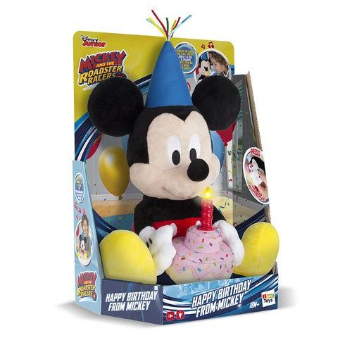 Pelúcia Mickey Mouse Happy Birthday c/ Som - Multikids Br375
