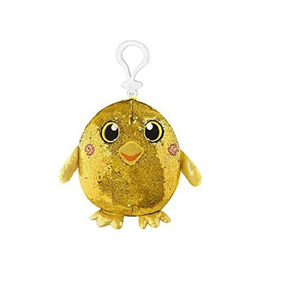 Pelucia Shimmeez Pequena Pintinho Amarelo 37454 - Toyng