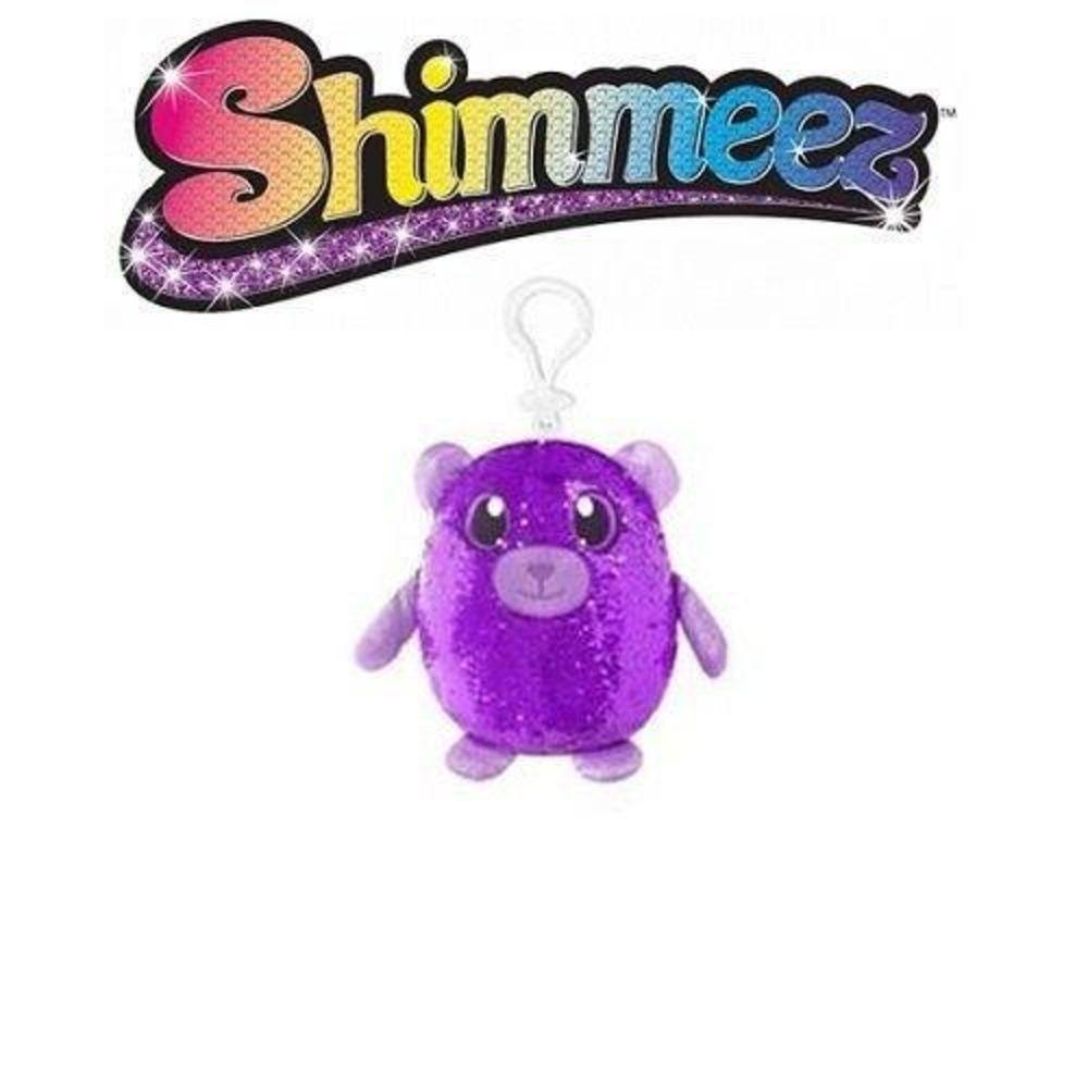 Pelucia Shimmeez Pequena Urso Roxo 37454 - Toyng