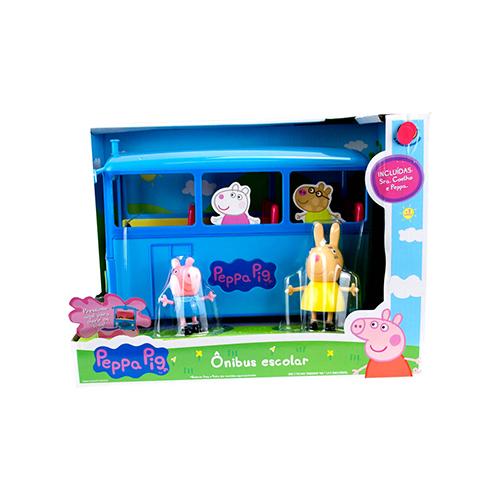 Peppa Pig Ônibus Escolar - Sunny 2308