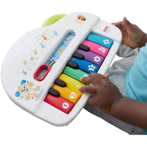 Piano Cachorrinho Aprender E Brincar Fisher Price GFX34