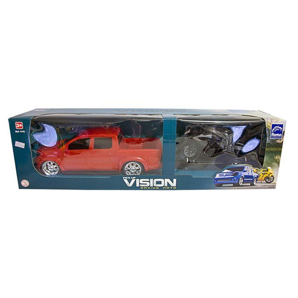 Pick Up Vision Racing vermelho 1115 - Roma