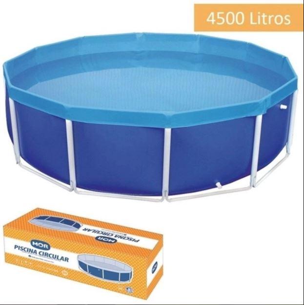 Piscina Circular 4.500 Litros - Mor 1007