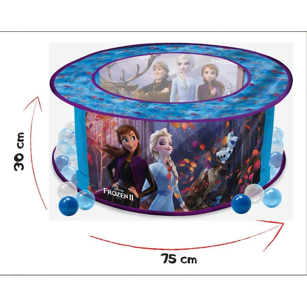 Piscina de Bolinha Frozen 2 100 Bolinhas - Líder 688