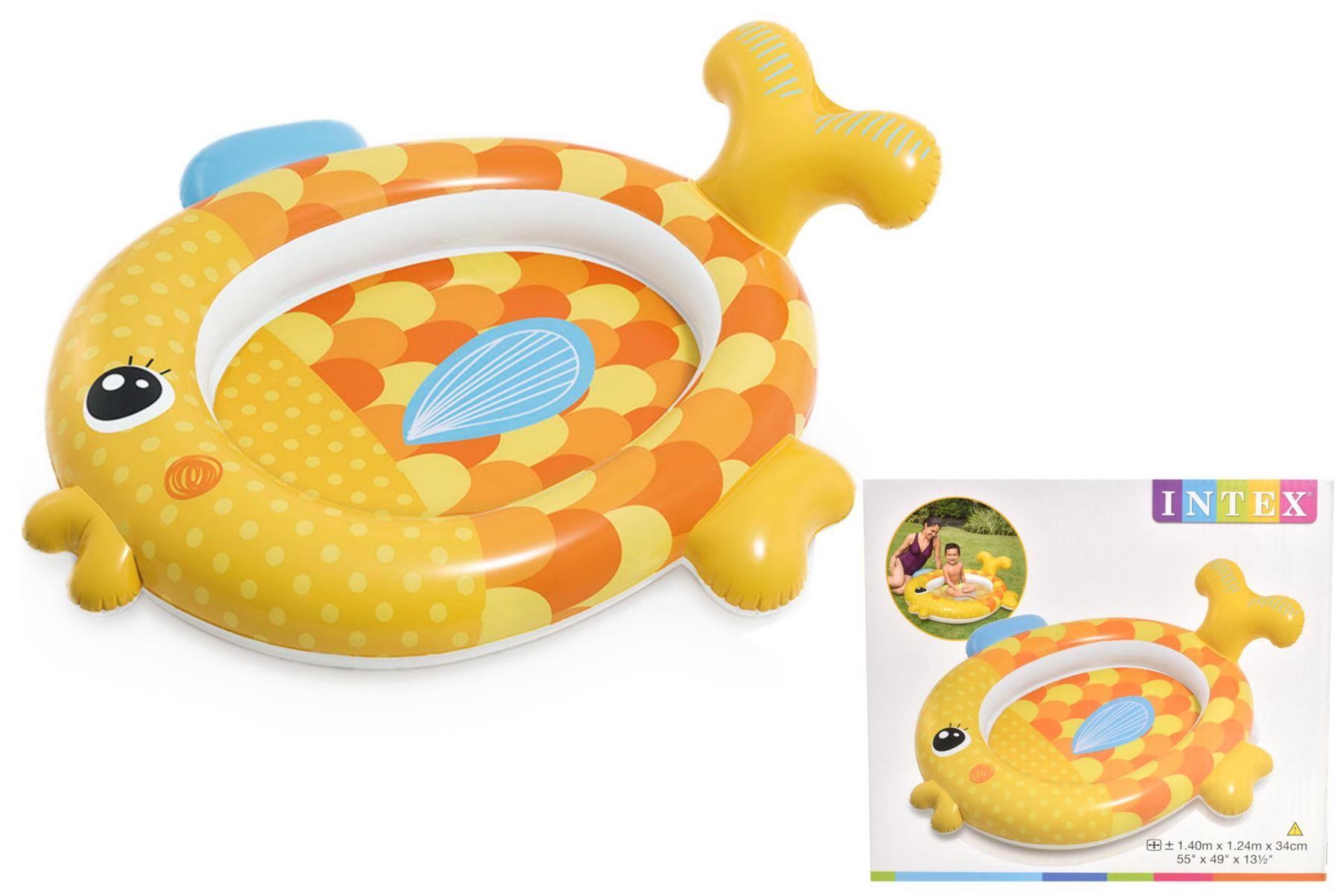 Piscina Inflável Meu Amigo Peixinho Dourado - Intex 57111