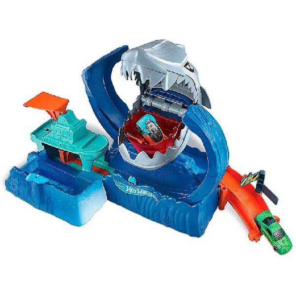Pista Hot Wheels City Robô Tubarão - Mattel GJL12