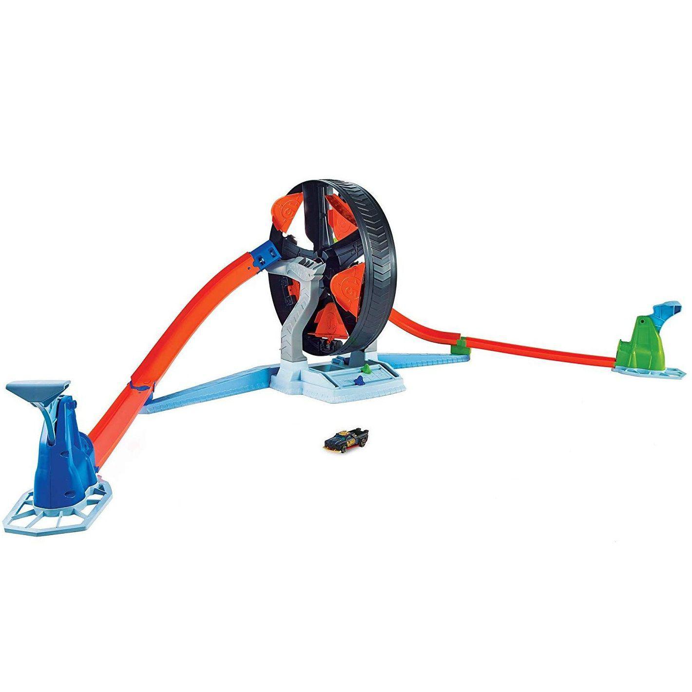 Pista Hot Wheels Competição Giratória - Mattel GJM77