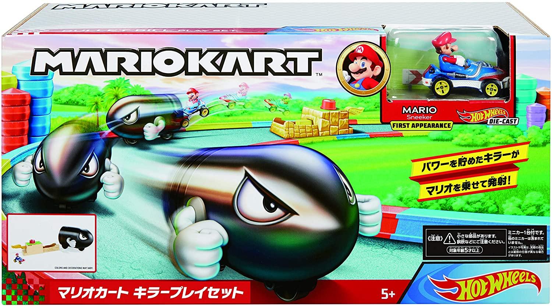 Pista Hot Wheels Mario Kart Lançador Bullet Bill - Mattel GKY54