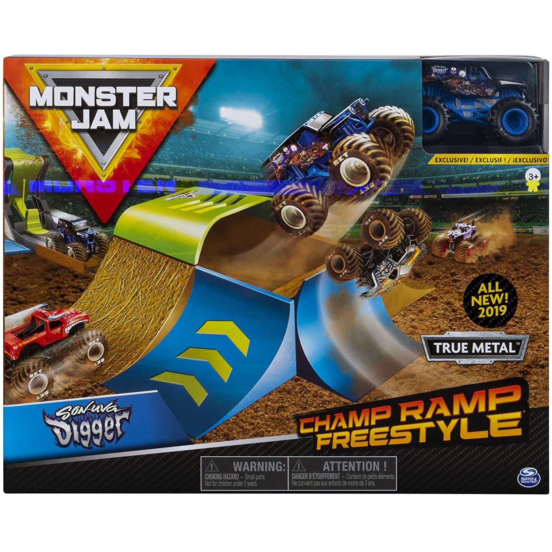 Pista Monster Jam Champ Ramp Freestyle - Sunny 2021