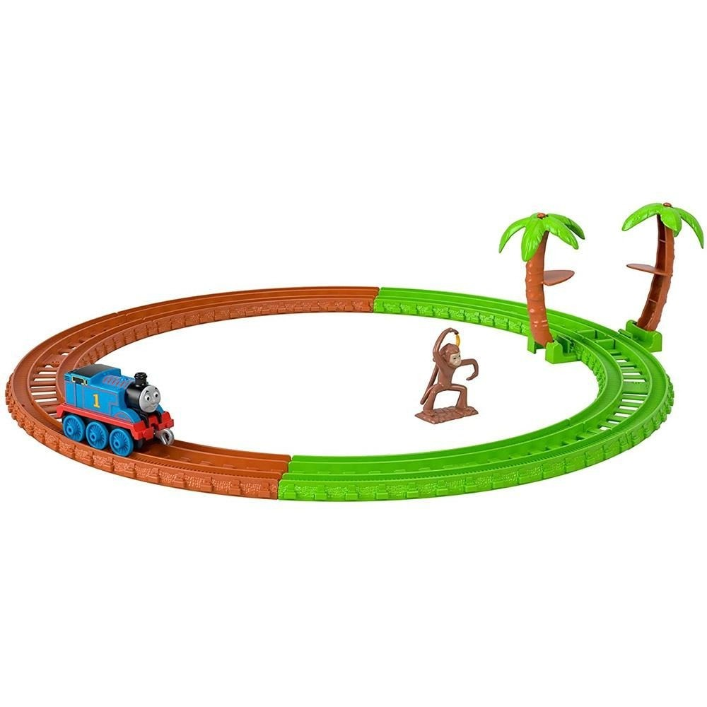 Pista Thomas e Seus Amigos Thomas na África - Mattel GJX83