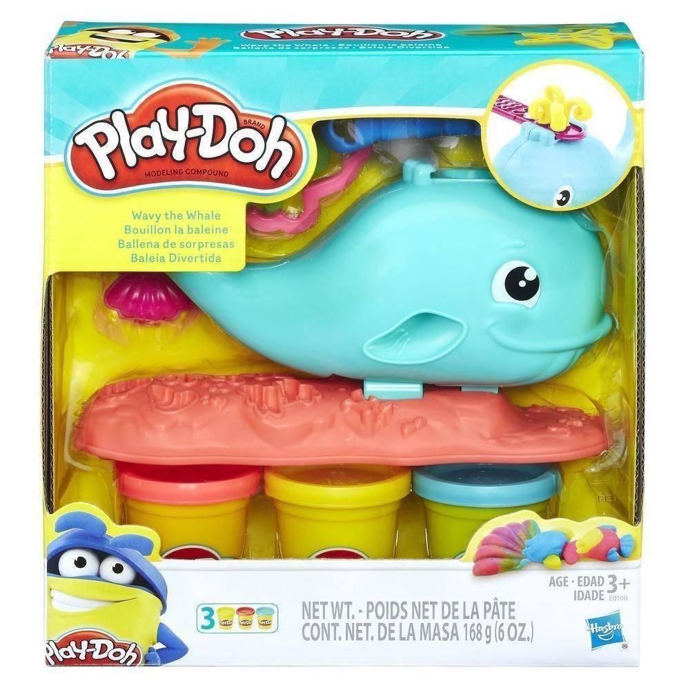Play Doh Baleia Divertida E0100 - Hasbro