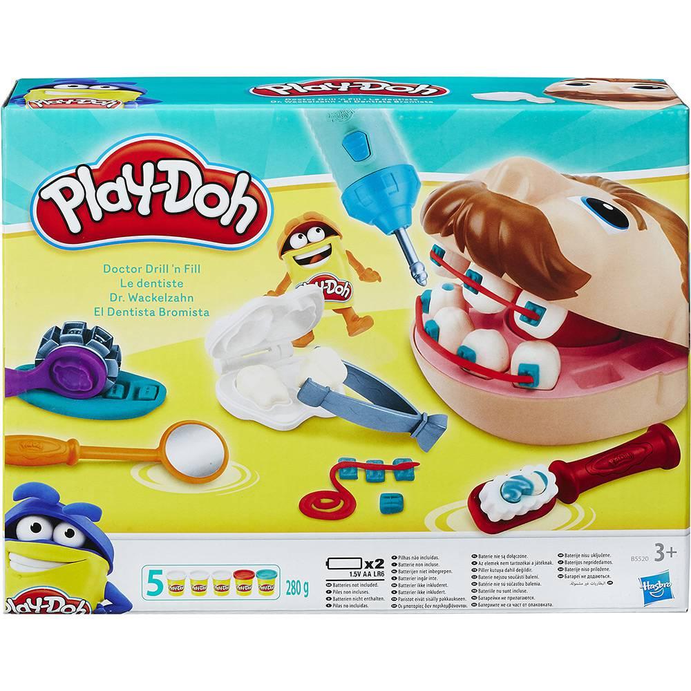 Play Doh Brincadeira De Dentista 60 Anos B5520 - Hasbro9658