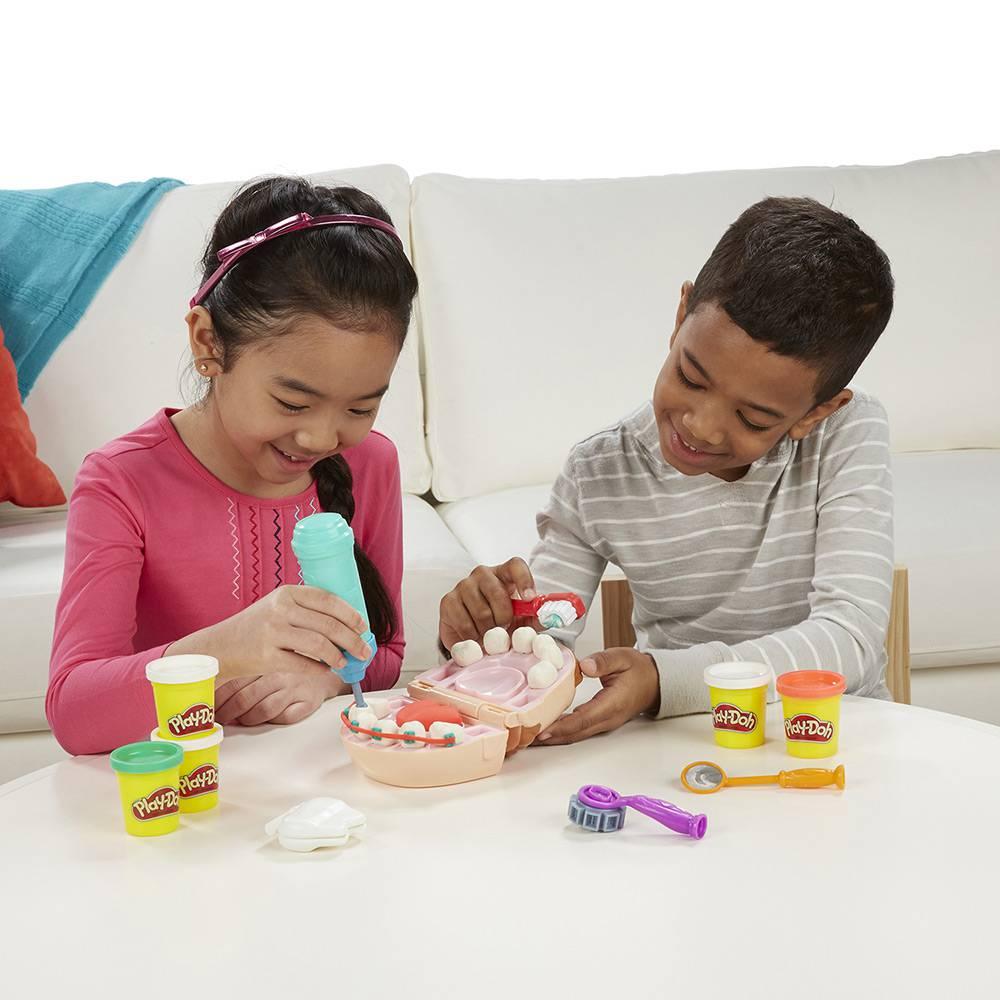Play Doh Brincadeira De Dentista 60 Anos B5520 - Hasbro