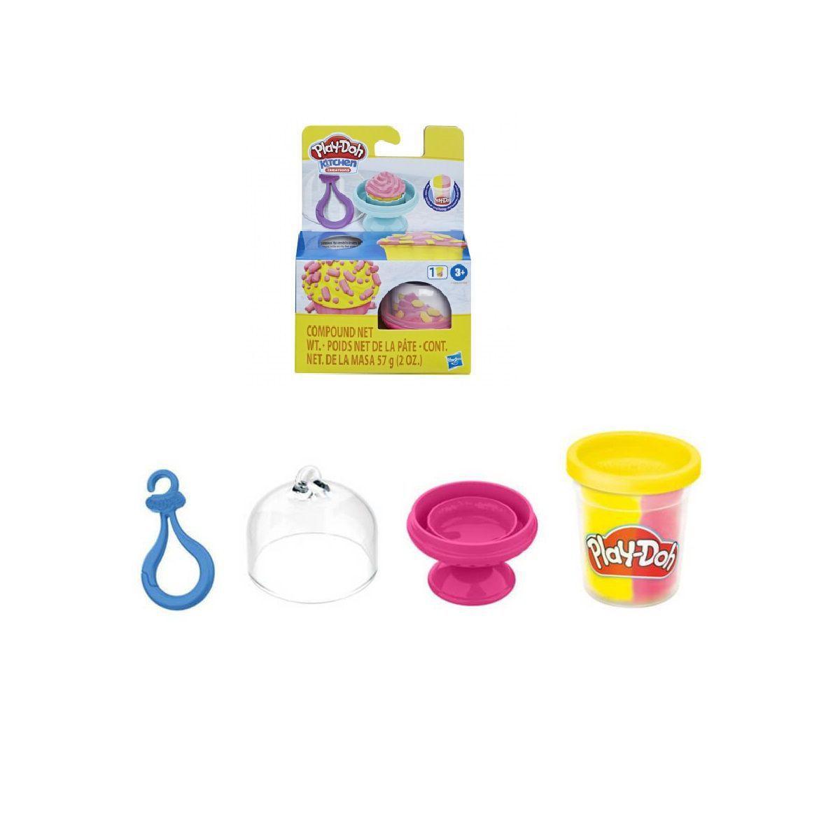 Play Doh Creations Cupcakes e Macarons Rosa-  Hasbro F1788