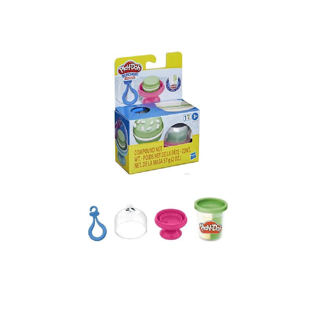 Play Doh Creations Cupcakes e Macarons verde água -  Hasbro F1788