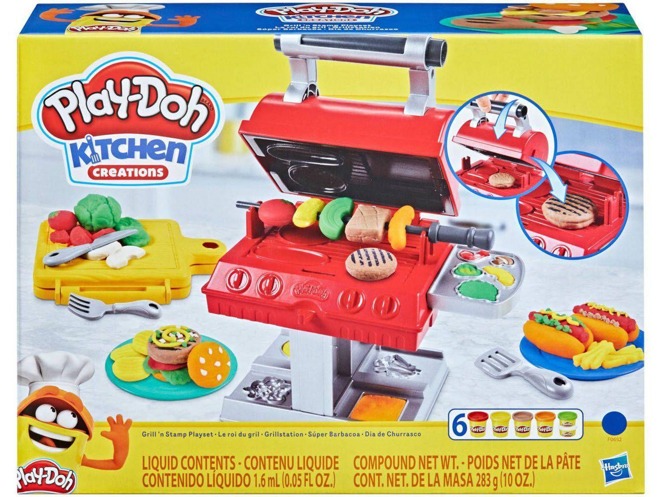 Play Doh Dia de Churrasco - Hasbro F0652