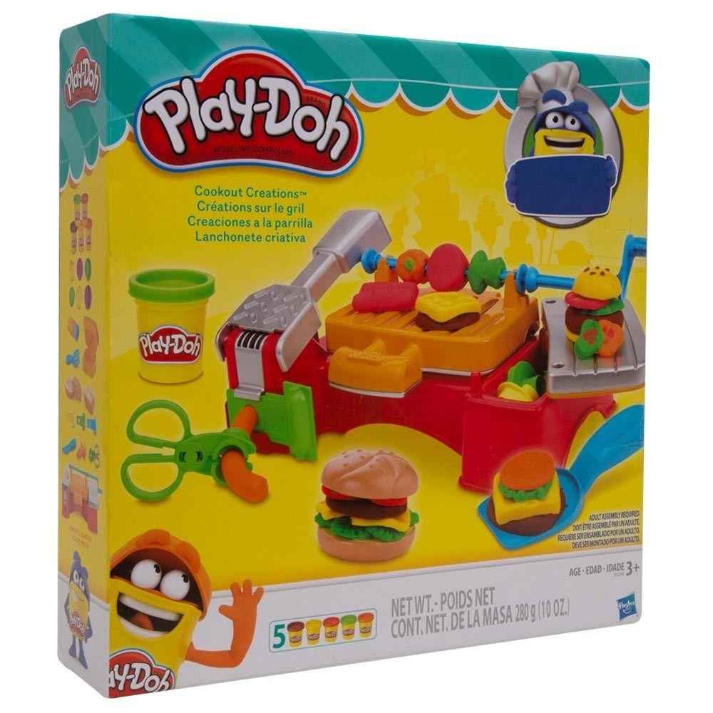 Play Doh Lanchonete Criativa Churrasco B3248 - Hasbro