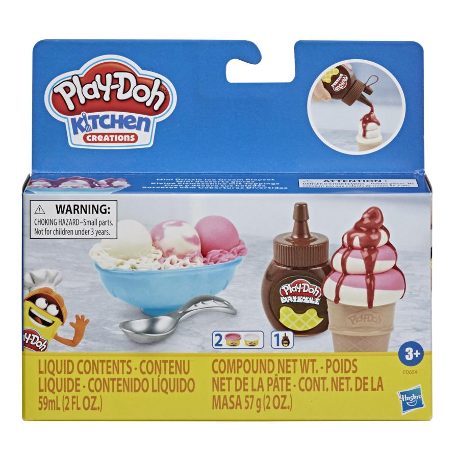 Play Doh Mini Kit Cobertura Sorvete Drizzle - Hasbro F0654