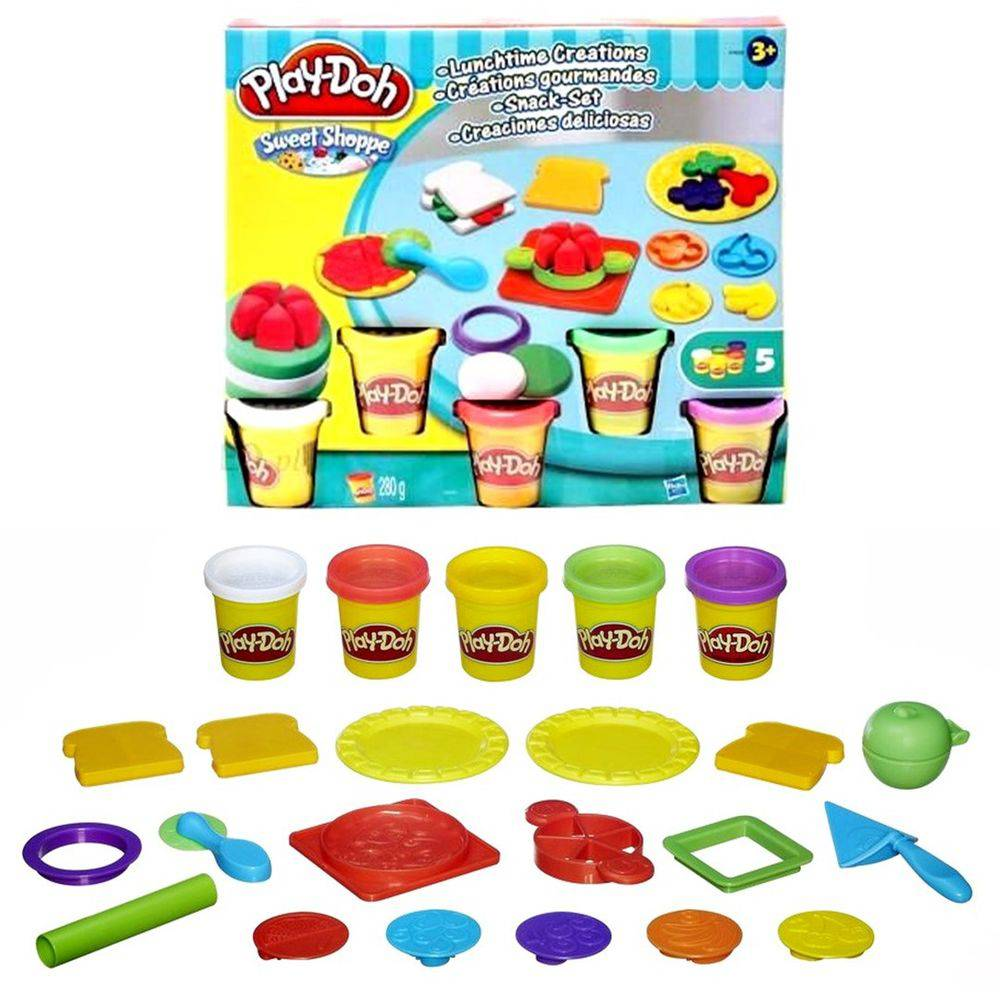 Play Doh Sweet Shoppe Hora do Lanche A7659 - Hasbro