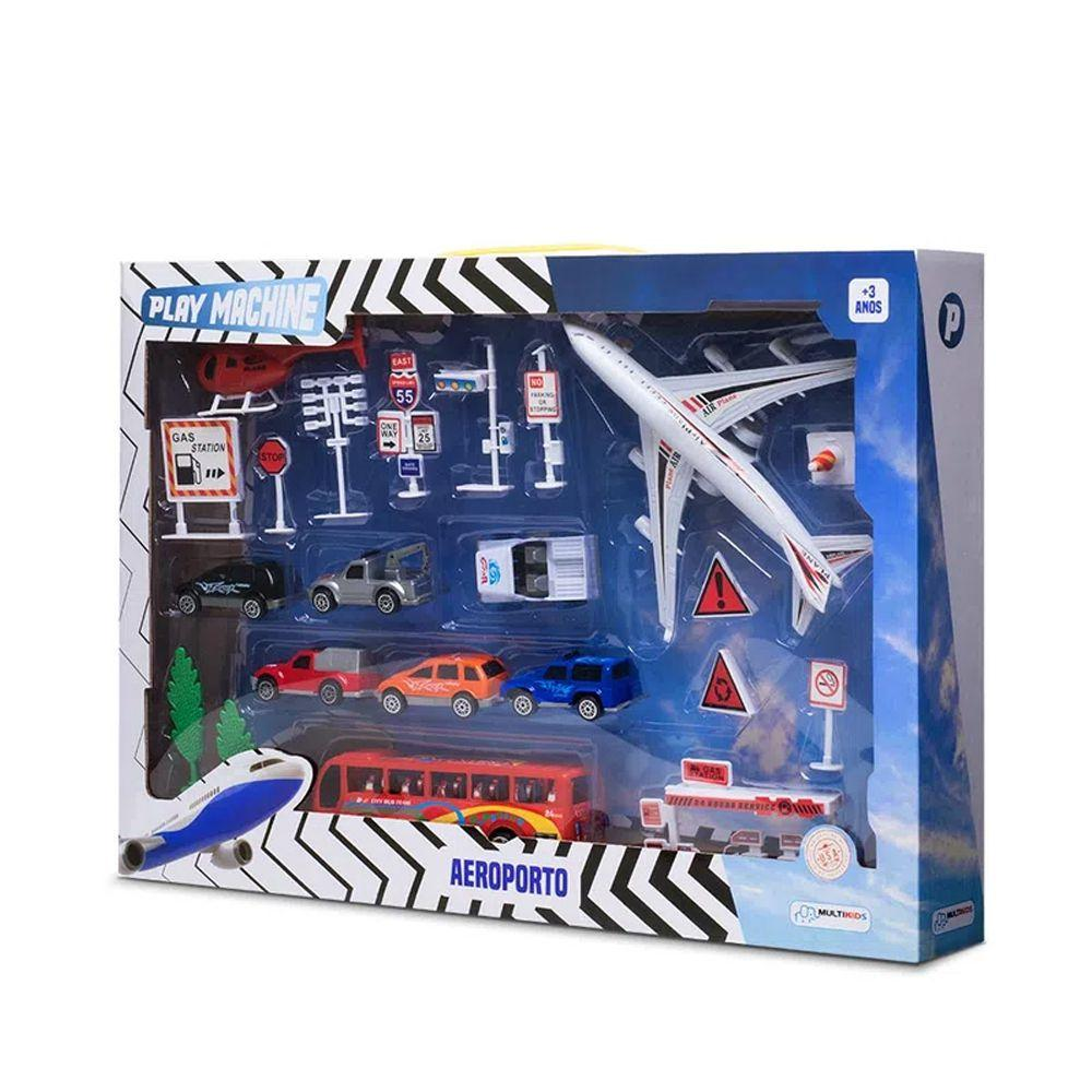 Play Machine Playset Aeroporto - Multikids BR968