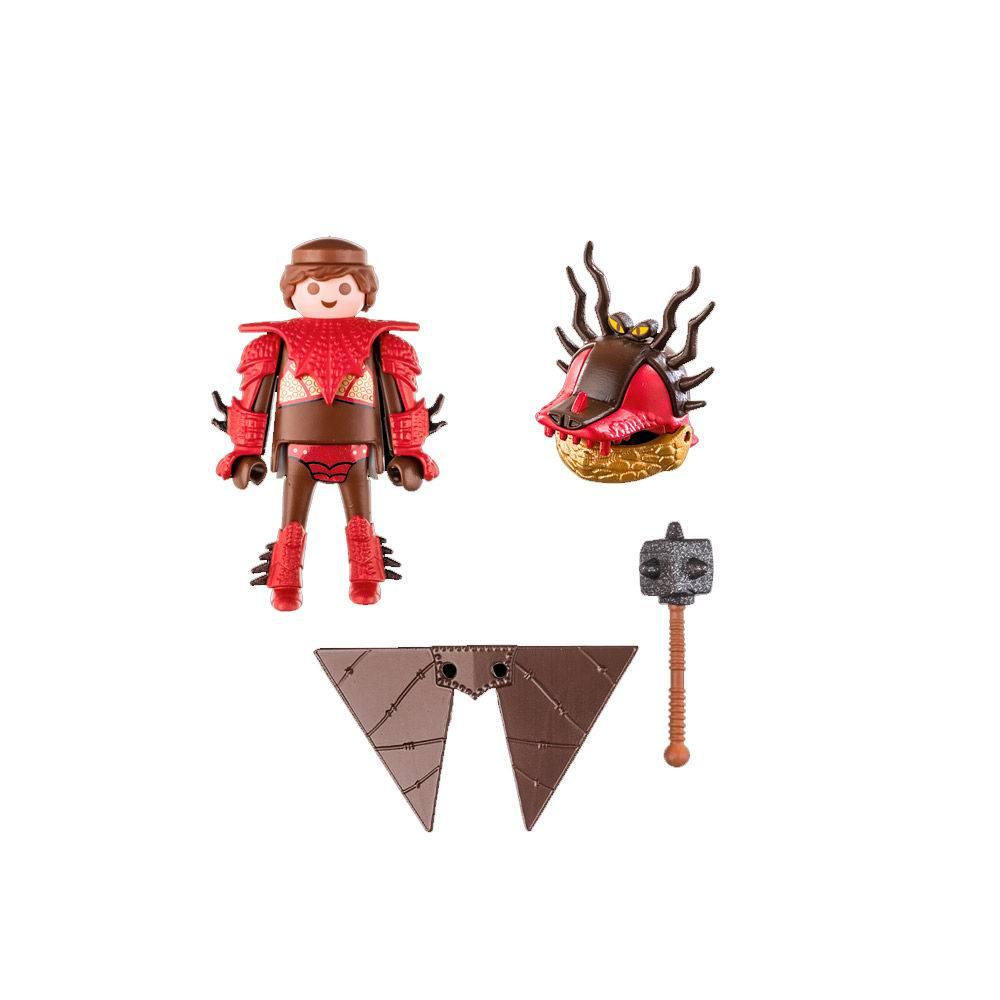 Playmobil Como Treinar Seu Dragão 3 Melequento em Armadura de Vôo 70043 - Sunny