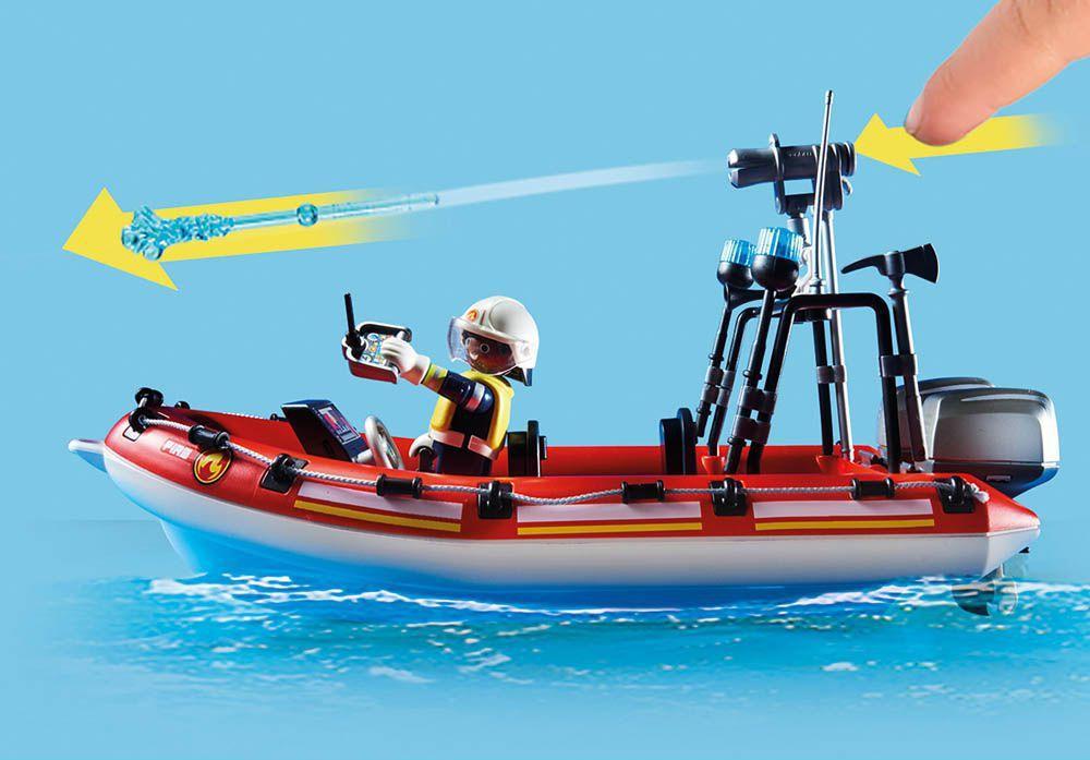 Playmobil Missão De Resgate Bombeiros - Sunny 2531