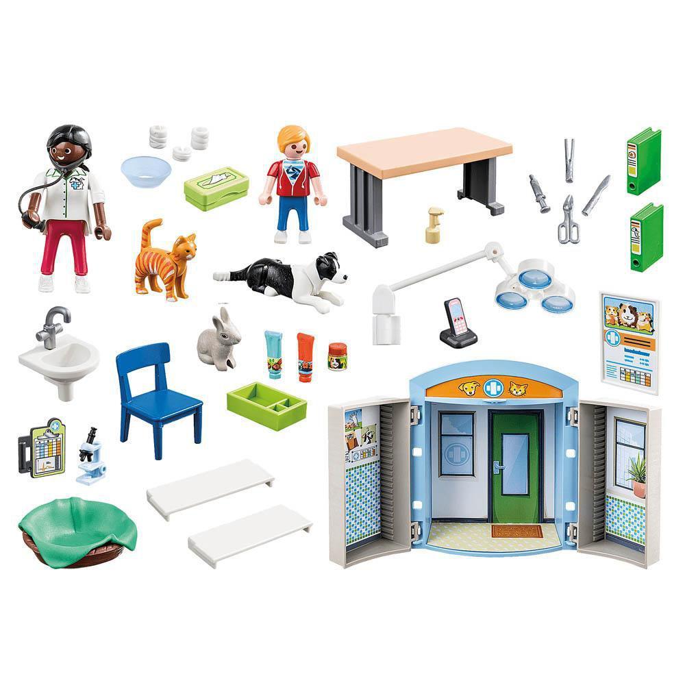 Playmobil Play Box Clínica Veterinária - Sunny 2530