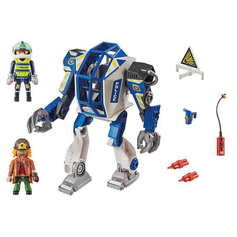 Playmobil Robô Operações Especiais da Polícia - Sunny 2556
