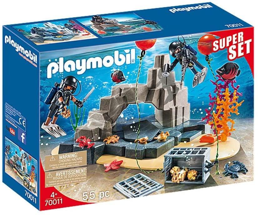 Playmobil Super Set Unidade de Mergulho Policial - Sunny 1599