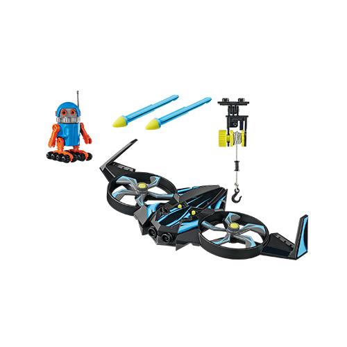 Playmobil The Movie Robotitron Com Drone 70071 Sunny