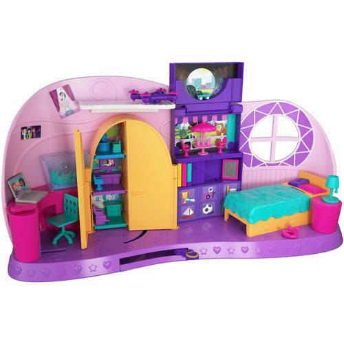 Playset e Mini Boneca Polly Pocket Quarto Polly FRY98 Mattel