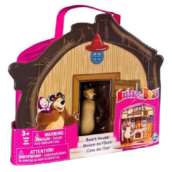 Playset e Mini Figura  Masha e o Urso Casa do Urso - Sunny