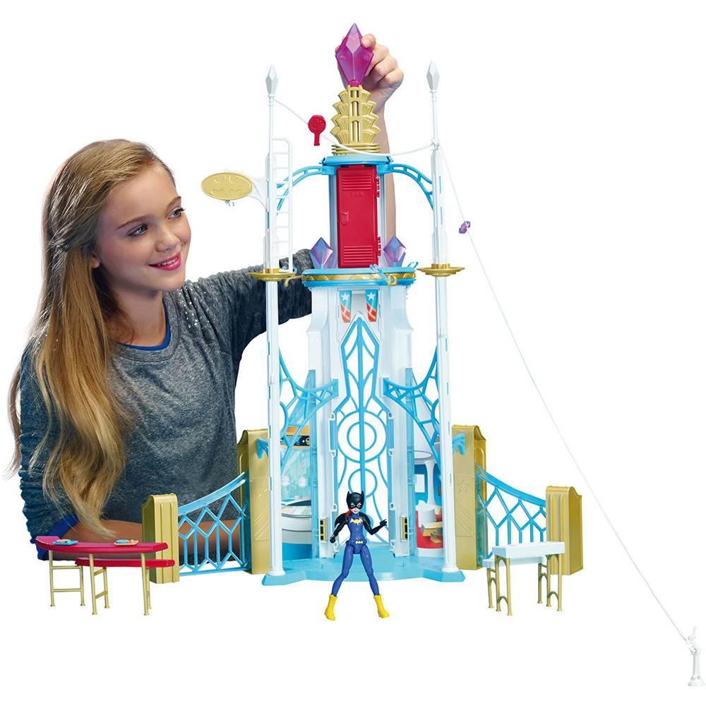 Playset Escola Super Hero High Dc Super Hero Girls  Dmr13  - Mattel
