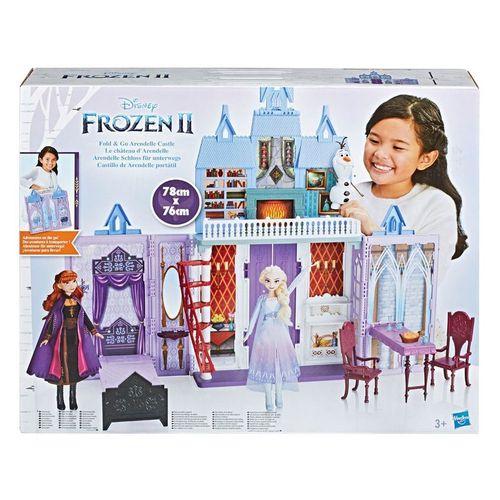 Playset Frozen 2 Castelo de Arendelle Portátil E5511 - Hasbro