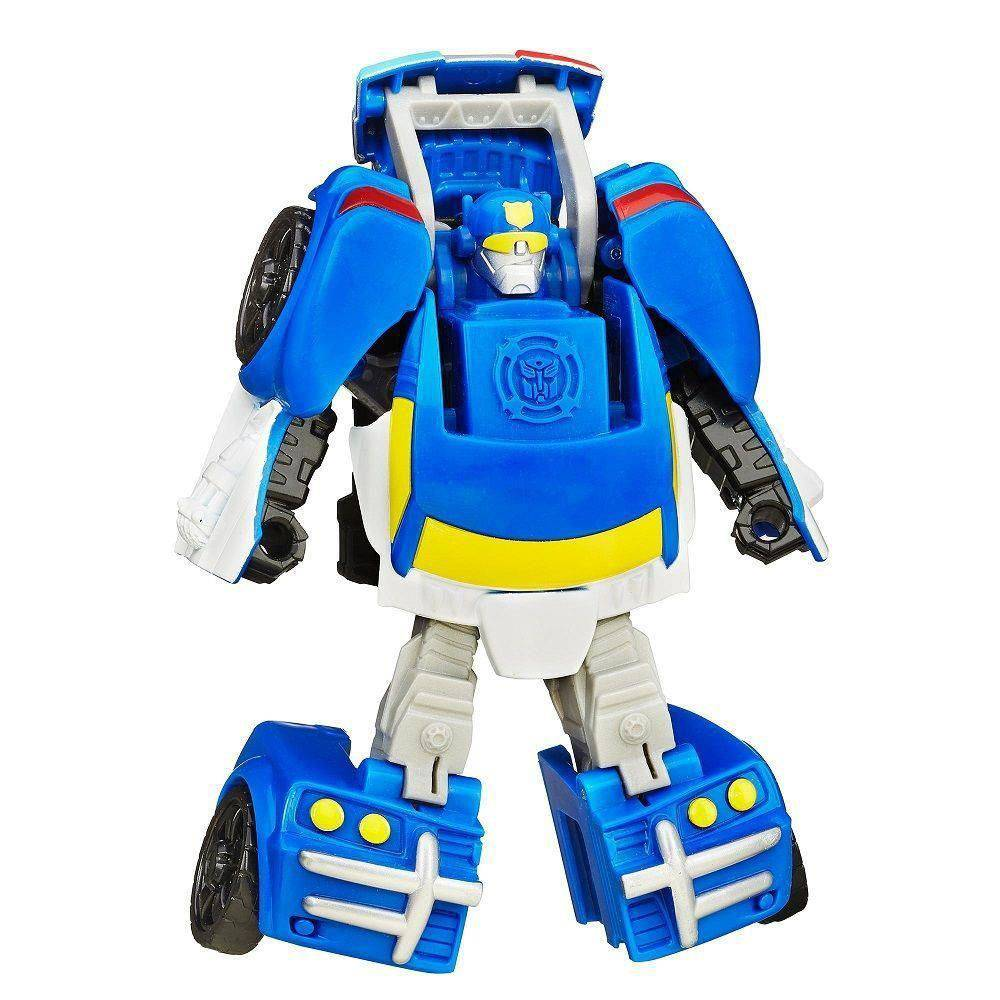 Playskool Transformers Rescue Bots Chase Robo Policial B3487/A7024 - Hasbro