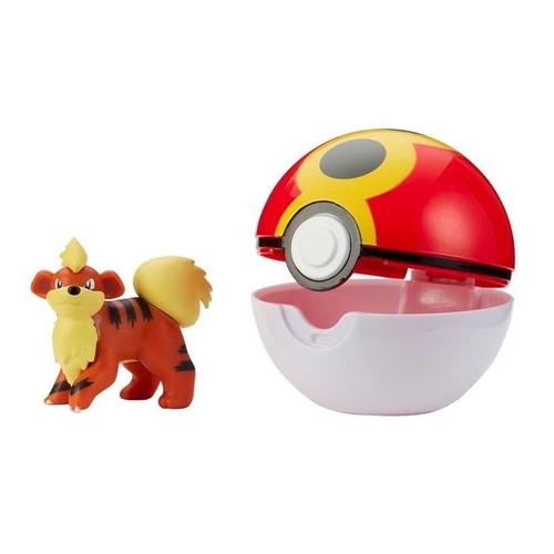Pokémon Clipe Pokebola Growlithe - Sunny 2606