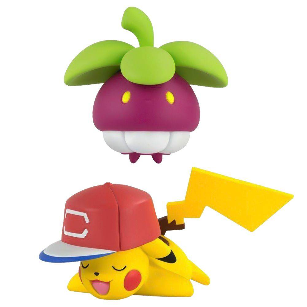 Pokémon Figura de Ação Bounsweet Vs Pikachu 1969 - Sunny
