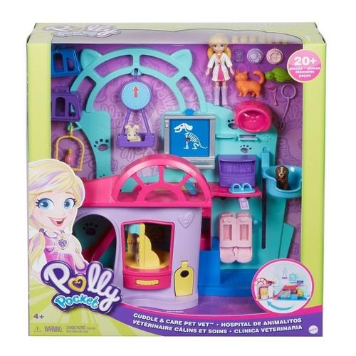 Polly Pocket Clínica Veterinária - Mattel GKL47