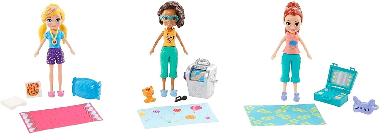 Polly Pocket Clubhouse 3 Bonecas - Mattel GMF82