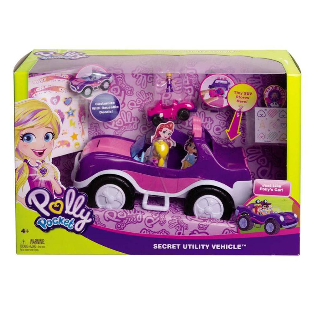 Polly Pocket e o Veículo Secreto - Mattel Fwy26