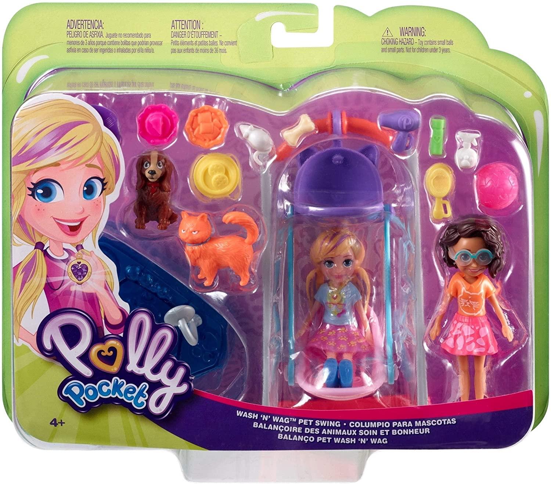 Polly Pocket Hora de Brincar 2 Amigas - Mattel GFR06